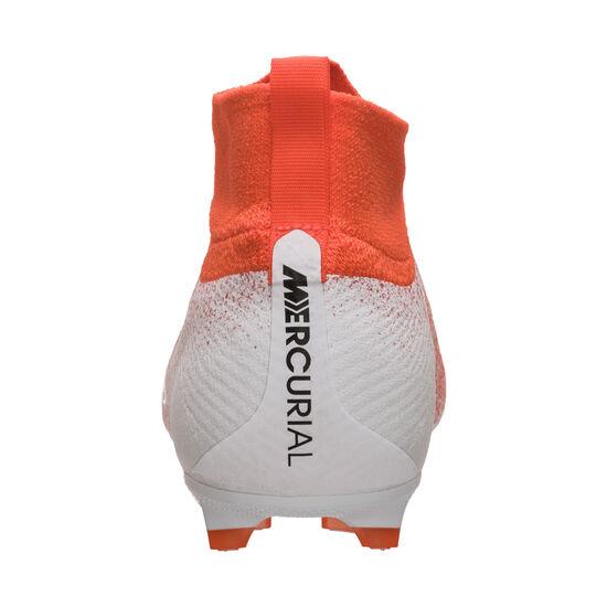 Mercurial Superfly VI Elite FG Fußballschuh Kinder, orange / weiß, zoom bei OUTFITTER Online
