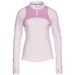 Qualifier Half Zip Laufshirt Damen, altrosa / rosa, zoom bei OUTFITTER Online