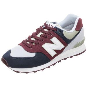 ML574-INE-D Sneaker Herren, weiß / bordeaux, zoom bei OUTFITTER Online