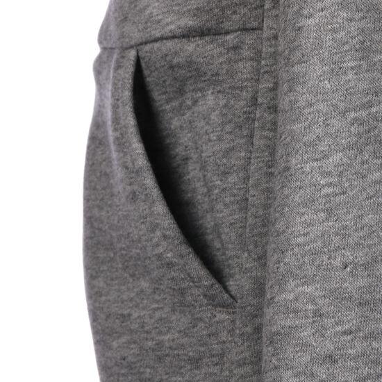 Full Zip Kapuzenjacke Kinder, grau / weiß, zoom bei OUTFITTER Online