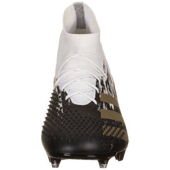 Predator 20.1 FG Fußballschuh Herren, weiß / gold, zoom bei OUTFITTER Online