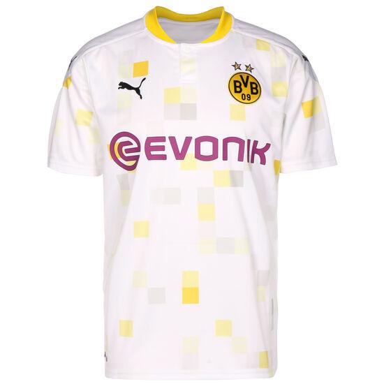 Borussia Dortmund Trikot 3rd 2020/2021 Herren, weiß / gelb, zoom bei OUTFITTER Online
