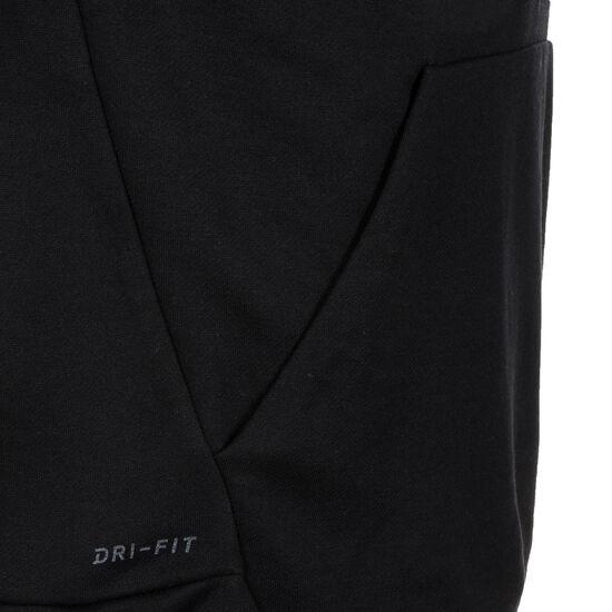 Dry Trainingskapuzenpullover Herren, schwarz / weiß, zoom bei OUTFITTER Online