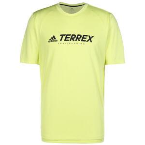 TERREX Primeblue Trail Laufshirt Herren, gelb, zoom bei OUTFITTER Online