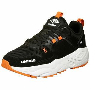 B360 Run Sneaker Herren, schwarz / orange, zoom bei OUTFITTER Online