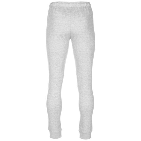 Slim Fit Jogger Trainingshose Herren, grau / weiß, zoom bei OUTFITTER Online