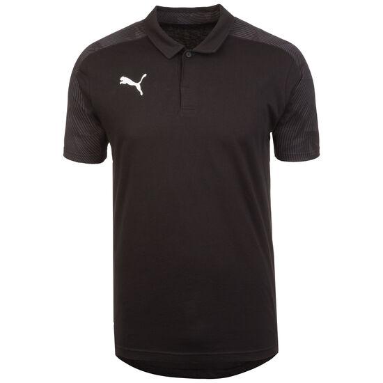 CUP Sideline Poloshirt Herren, schwarz / grau, zoom bei OUTFITTER Online