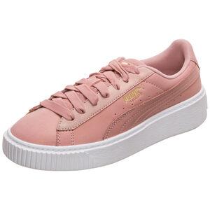 Suede Platform Shimmer Sneaker Damen, rosa / weiß, zoom bei OUTFITTER Online