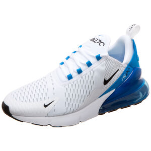 Air Max 270 Sneaker Herren, weiß / blau, zoom bei OUTFITTER Online