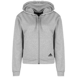 Stack Kapuzenjacke Damen, grau / schwarz, zoom bei OUTFITTER Online