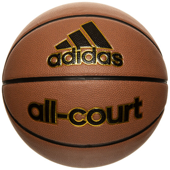 All-Court Basketball, braun / gold, zoom bei OUTFITTER Online
