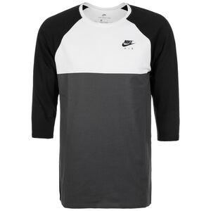 Sportswear T-Shirt Herren, schwarz / weiß, zoom bei OUTFITTER Online