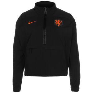 Niederlande Midlayer Trainingsjacke Damen, schwarz / orange, zoom bei OUTFITTER Online