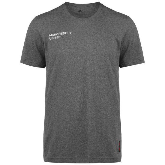Manchester United Street Graphic T-Shirt Herren, dunkelgrau / weiß, zoom bei OUTFITTER Online