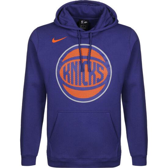 New York Knicks Club Logo Kapuzenpullover Herren, blau, zoom bei OUTFITTER Online