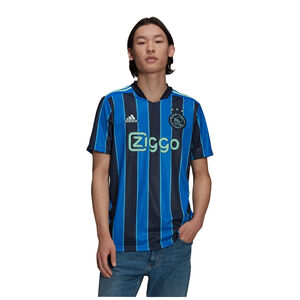 Ajax Amsterdam Trikot Away 2021/2022 Herren, blau / dunkelblau, zoom bei OUTFITTER Online