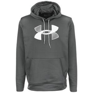 Armour Fleece Big Logo Kapuzenpullover Herren, anthrazit / hellgrau, zoom bei OUTFITTER Online