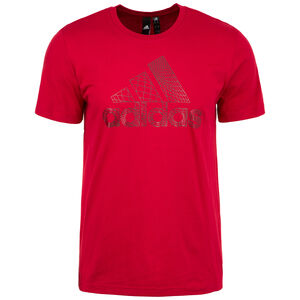 Must Haves Badge of Sport Foil Trainingsshirt Herren, rot, zoom bei OUTFITTER Online