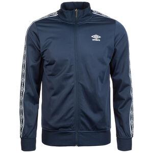 Retro Taped Tricot Trainingsjacke Herren, dunkelblau / weiß, zoom bei OUTFITTER Online