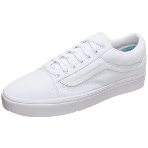 Old Skool ComfyCush Sneaker, weiß, zoom bei OUTFITTER Online