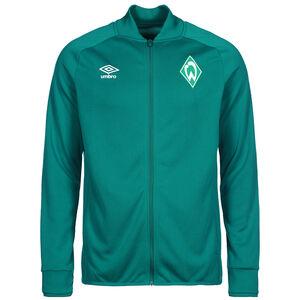 SV Werder Bremen Präsentationsjacke Herren, dunkelgrün, zoom bei OUTFITTER Online