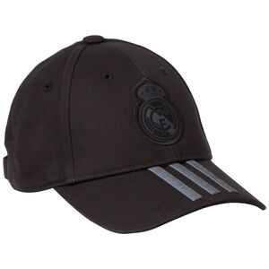 Real Madrid C40 Cap, schwarz / anthrazit, zoom bei OUTFITTER Online