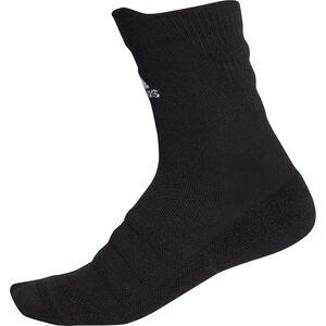 Alphaskin Ultralight Crew Socken, schwarz, zoom bei OUTFITTER Online