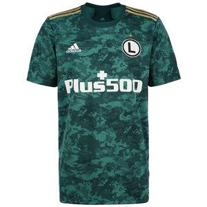 Legia Warschau Trikot Home 2021/2022 Herren, grün / weiß, zoom bei OUTFITTER Online