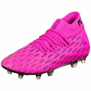 Future 6.1 NETFIT FG/AG Fußballschuh Kinder, pink / schwarz, zoom bei OUTFITTER Online