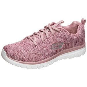 Graceful Twisted Fortune Trainingsschuh Damen, rosa / weiß, zoom bei OUTFITTER Online