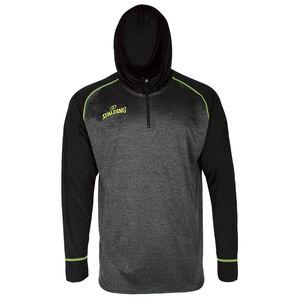 Street Hooded Sweatshirt Herren, anthrazit / gelb, zoom bei OUTFITTER Online