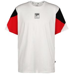 Rebel Advanced T-Shirt Herren, weiß / rot, zoom bei OUTFITTER Online