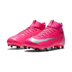 Mercurial Superfly 7 Academy Kylian Mbappé DF MG Fußballschuh Kinder, pink / weiß, zoom bei OUTFITTER Online