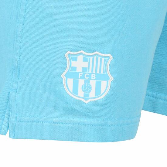 FC Barcelona Shorts Herren, türkis / weiß, zoom bei OUTFITTER Online