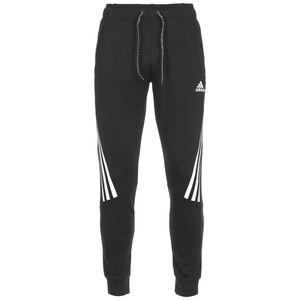 3-Streifen Tape Jogginghose Herren, schwarz / weiß, zoom bei OUTFITTER Online