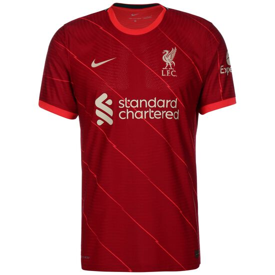 FC Liverpool Trikot Home Match 2021/2022 Herren, rot / weiß, zoom bei OUTFITTER Online