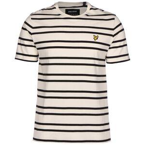 Double Stripe T-Shirt Herren, beige / schwarz, zoom bei OUTFITTER Online