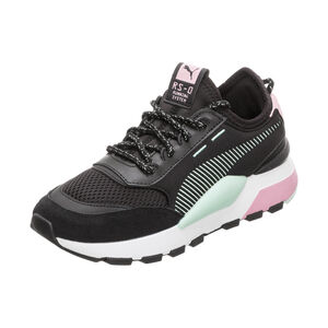 RS-0 Winter Toys INJ Sneaker Kinder, schwarz / pink, zoom bei OUTFITTER Online