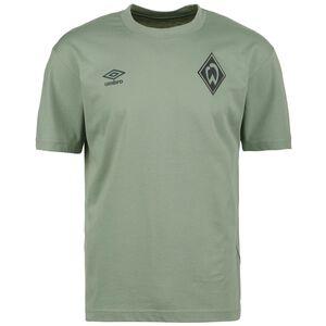 SV Werder Bremen Travel T-Shirt Herren, grün, zoom bei OUTFITTER Online