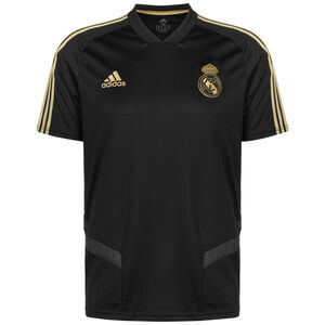 Real Madrid Trainingstrikot Herren, schwarz / gold, zoom bei OUTFITTER Online