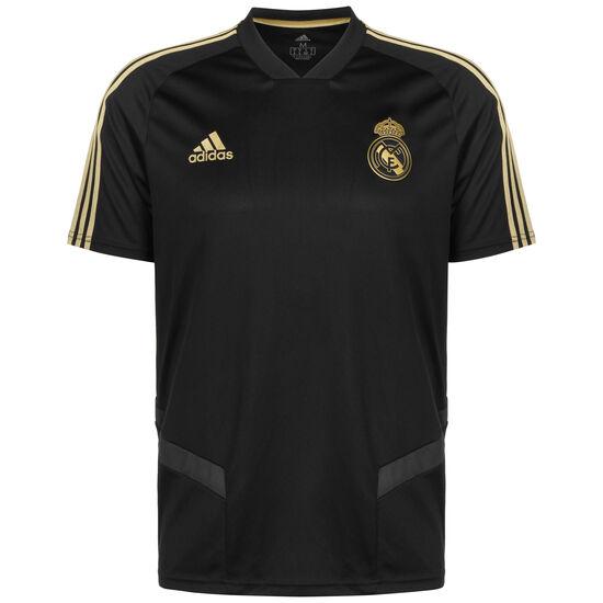 Real Madrid Trainingstrikot Herren, schwarz / gold, zoom bei OUTFITTER Online
