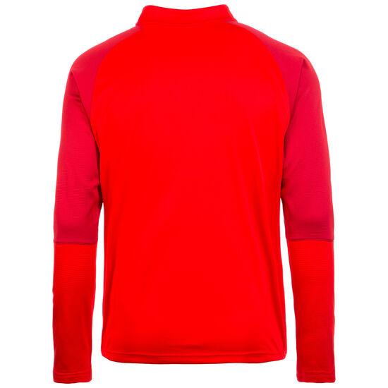 Cup 1/4 Zip Trainingsshirt Herren, rot / dunkelrot, zoom bei OUTFITTER Online