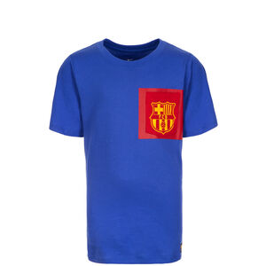 FC Barcelona Crest T-Shirt Kinder, blau / rot / gelb, zoom bei OUTFITTER Online
