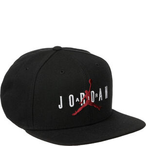 Pro Air Snapback Cap, schwarz / rot, zoom bei OUTFITTER Online