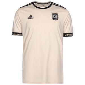 Los Angeles FC Trikot Away 2021 Herren, beige / schwarz, zoom bei OUTFITTER Online