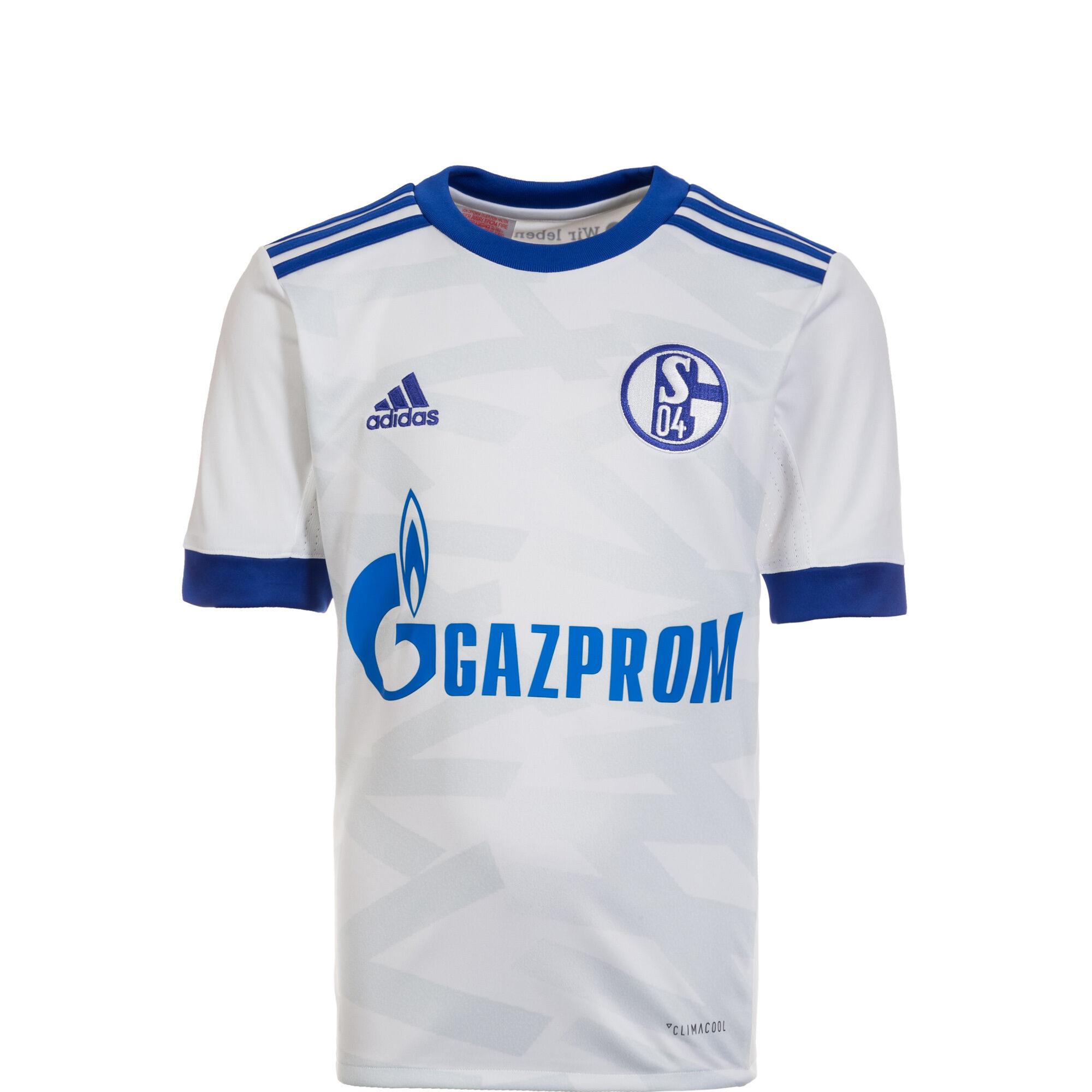 FC Schalke 04 Trikot Away 2017/2018 Kinder, Weiß, zoom bei OUTFITTER Online  ...