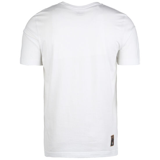 FIGC Italien DNA T-Shirt EM 2020 Herren, weiß / dunkelblau, zoom bei OUTFITTER Online