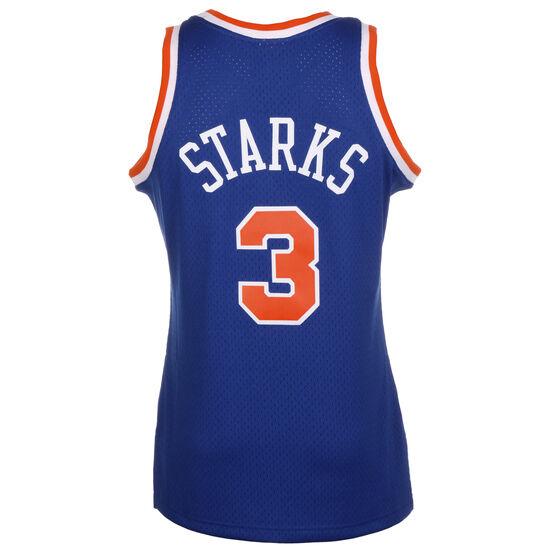 Classic Swingman #3 John Starks Basketballtrikot Herren, dunkelblau / rot, zoom bei OUTFITTER Online