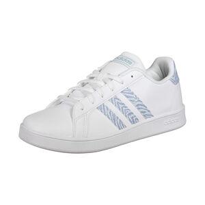 Grand Court Sneaker Kinder, weiß / blau, zoom bei OUTFITTER Online