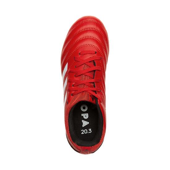 Copa 20.3 FG Fußballschuh Kinder, rot / schwarz, zoom bei OUTFITTER Online